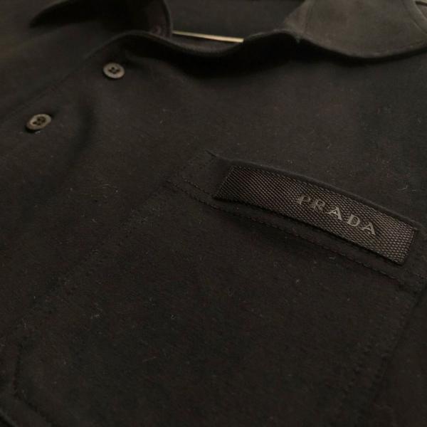 Camisa polo prada de mangas compridas, original com
