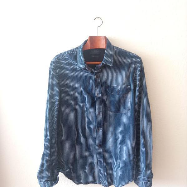 Camisa richards manga longa