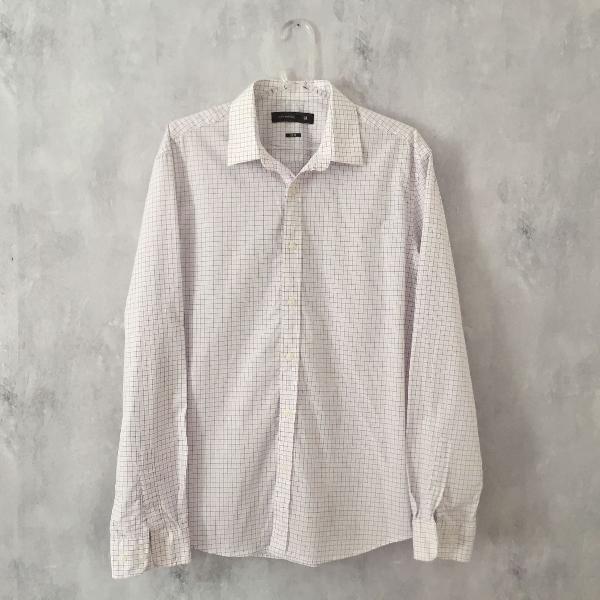 Camisa xadrez luigi bertolli