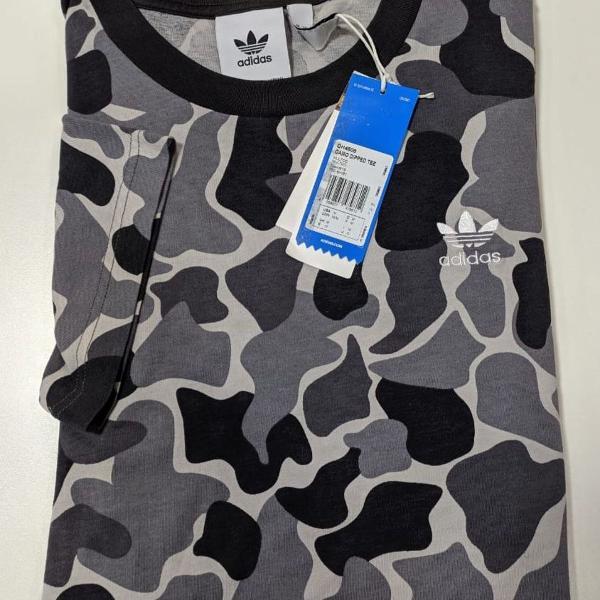Camiseta adidas camouflage dip-dyed multicolor