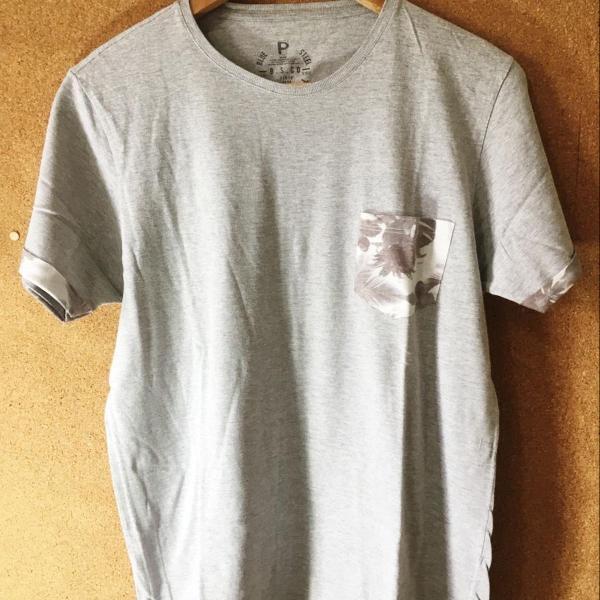 Camiseta cinza blue steel