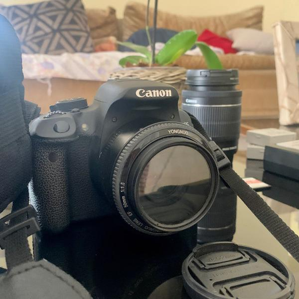 Câmera profissional - t51 cânon