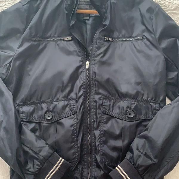 Jaqueta de nylon h&m marinho