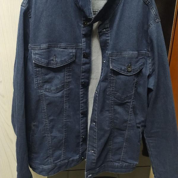 Jaqueta jeans - masculina, tamanho g