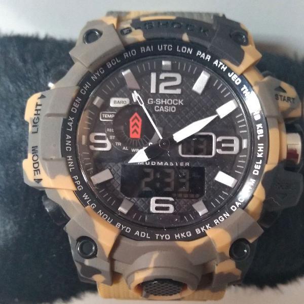 Relógio masculino casio g-shock camuflado