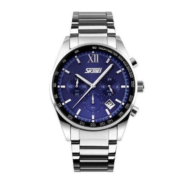 Relógio másculino skmei analógico lindo