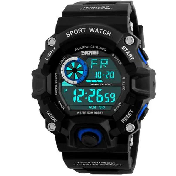 Relógio skmei 1019 masculino esportivo digital militar 1019