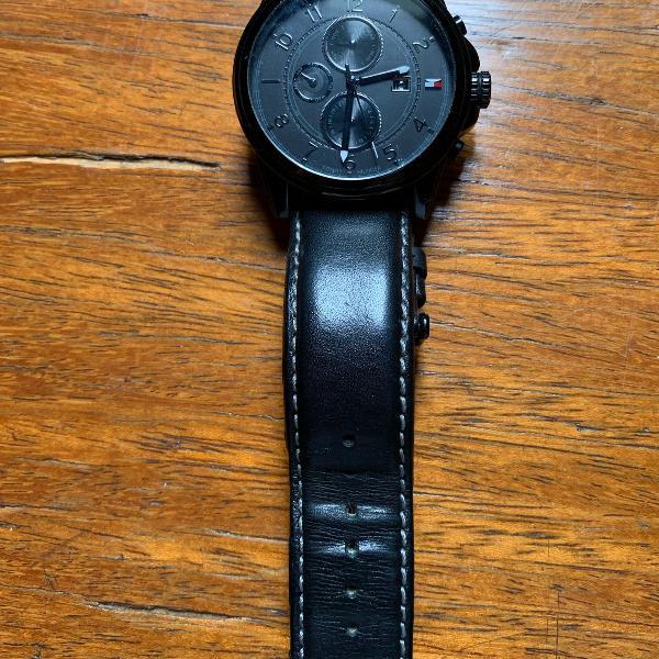 Relógio tommy preto original