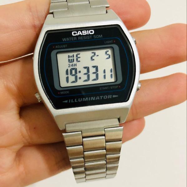 Relógio unissex casio vintage