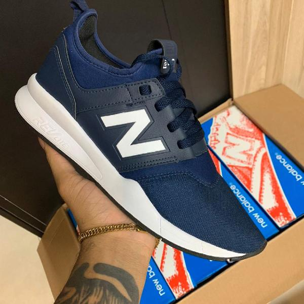 Tênis new balance n39 azul