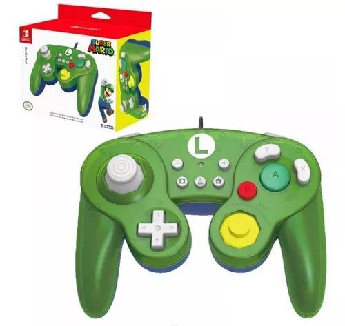 Controle gamecube usb luigi switch/pc hori ler descrição