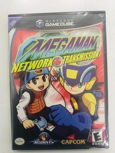 Game cube megaman network transmission americano loja fisica