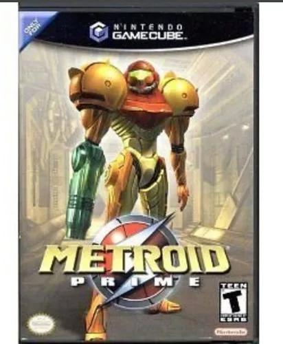 Metroid prime nintendo game cube jogo original na caixa pron