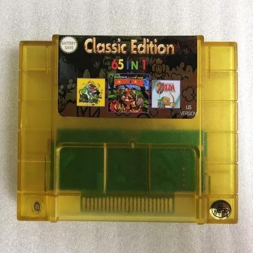 Video game gartridge game 31 salvou us super 65