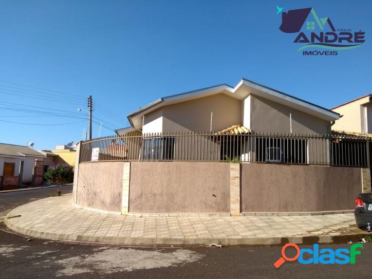 Casa, 3 dormitórios,165m², no jardim tropical, piraju/sp.