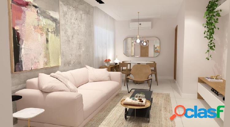 Lindo apartamento varanda e 3 quartos 2 suítes, porcelanato - flamengo