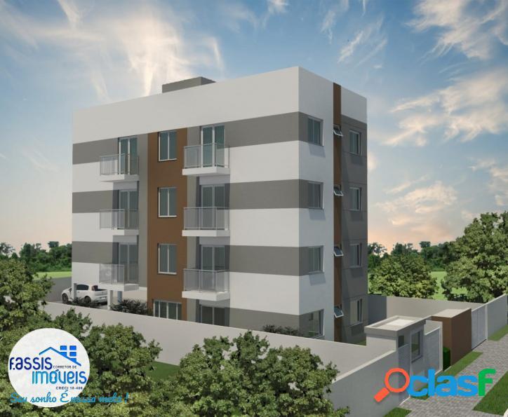 Apartamentos novos entrada parcelada durante a obra