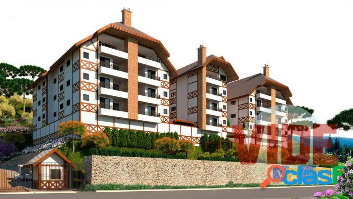 Apartamento 3 dormitórios (1 suíte), 87,75 m², em campos do jordão