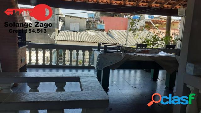 Parque ipê - sobrado - 200 mts, 4 dorms, com varanda, 2 vagas, próx. metrô