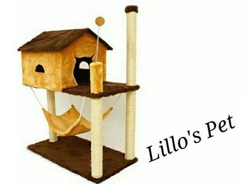 Arranhador gato casa com rede promoção