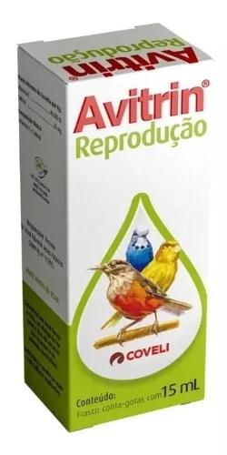 Avitrin reprodução para aves supl