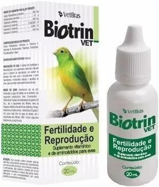 Biotrin vet fertilidade reprodução 20ml