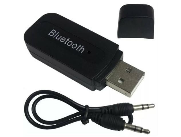 Bluetooth transmissor conexão auxiliar (aceito cartão)