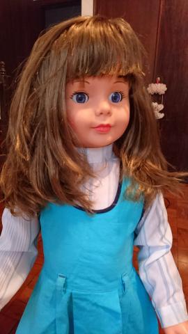 Boneca amiguinha antiga 1980