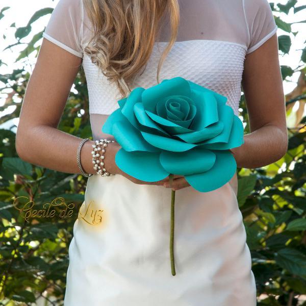 Bouquet único - rosa 25cm