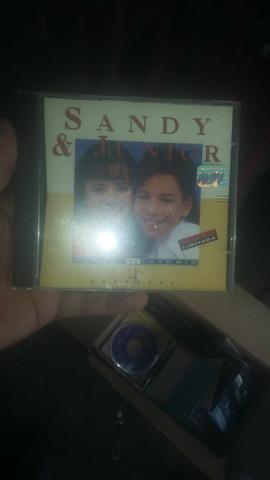 Cd sandy junior antigo - relíquia