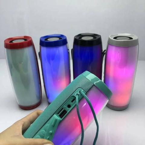 Cod: 0185 caixa de som bluetooth com led colorido tg-157