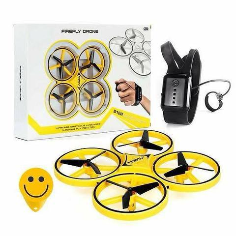 Drone firefly de indução para mão