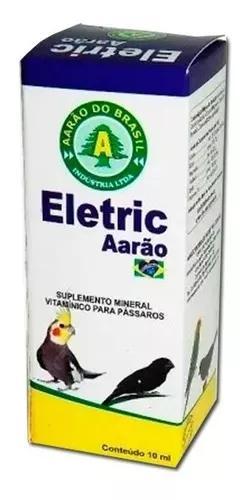 Eletrolíticos (soro) eletric aarão do brasil frasco 10 ml