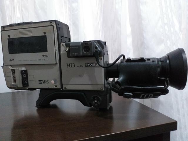 Filmadora jvc br-s411u (relíquia)