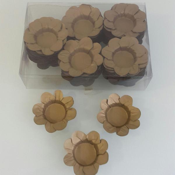Forminhas para doces dourada