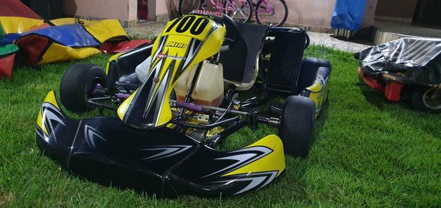 Kart 125cc refrigerado a água