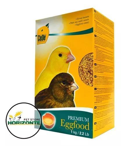 Kit 3 cede farinhada de ovo para canários 1kg - importada