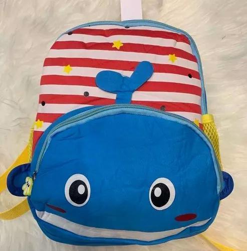 Kit mochila infantil animais zoo bebe 3peças