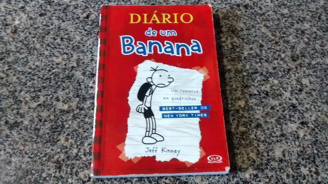 """Livro """"diário de um banana"""" volume 1 do ano 2008"""