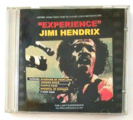 Lote de 4 cd´s originais do jimi hendrix
