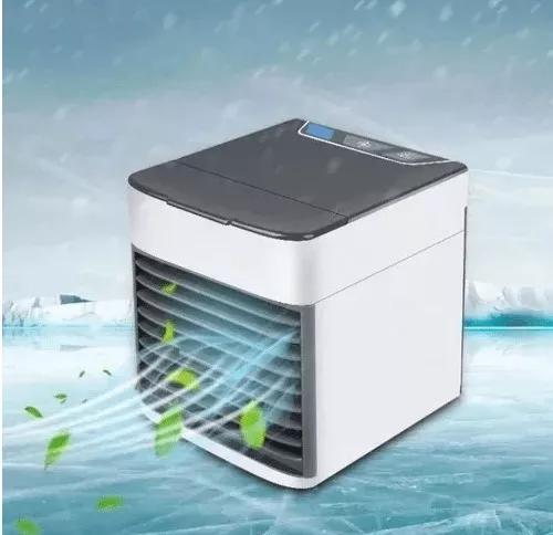 Mini ar condicionado ventilador portátil climatizador