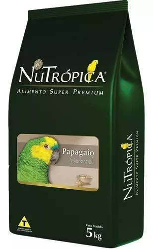 Nutropica papagaios natural 5kg