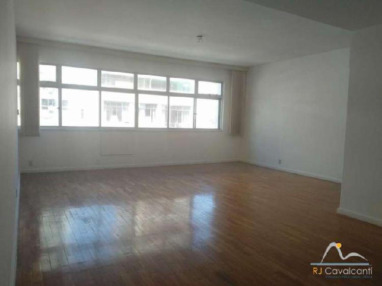 Rj - ipanema - apartamento - 3 quartos - 150m²
