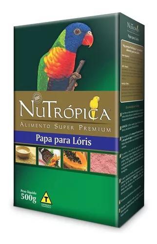 Ração nutrópica papa para lóris - 5kg