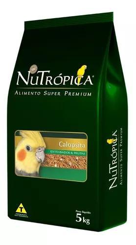 Ração nutrópica para calopsita sabor frutas - 5kg