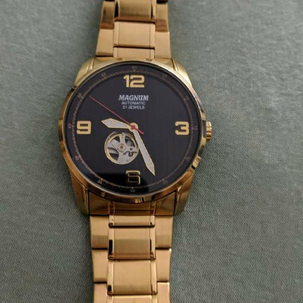 Relógio magnum automatic 21 jewels original