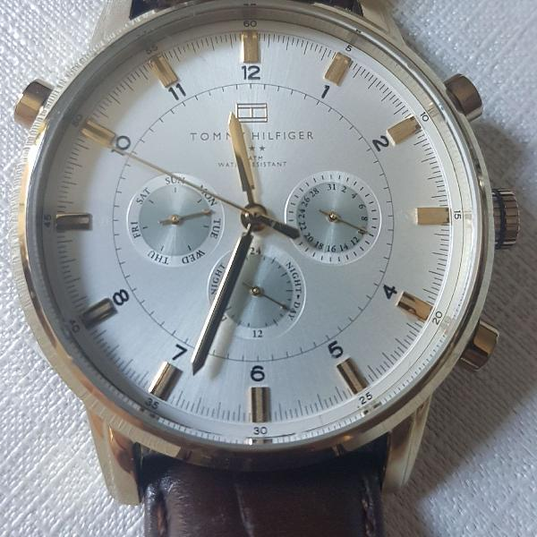Relógio masculino tommy hilfiger original th 1911341317