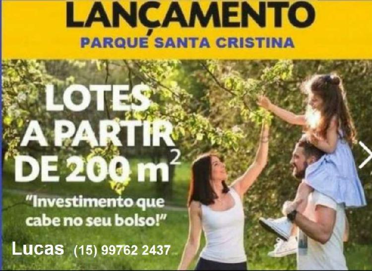 Terrenos em bairro lançamento em sorocaba financia até 180