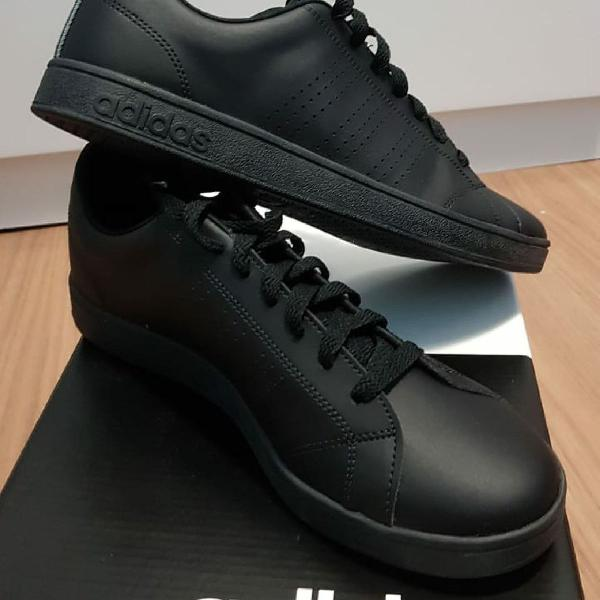 Tênis adidas vs advantage clean masculino - preto