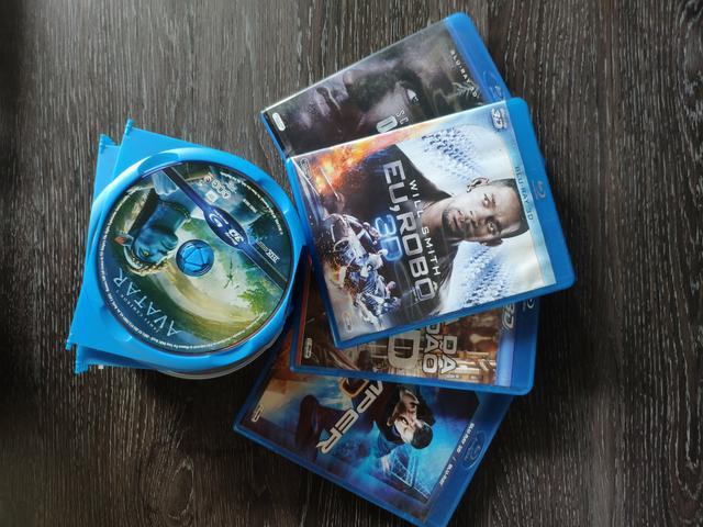 Vendo blu ray 3d filmes títulos diversos